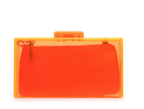 Zara Coloured Methacrylate Box Bag