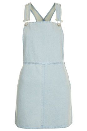 Topshop Moto Clean Denim Pini Dress