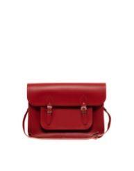 Cambridge Satchel Company  Red Leather Satchel