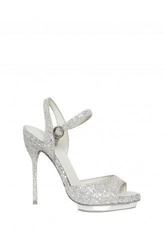 Alice + Olivia  Posey Capri Glitter Heel