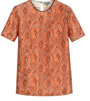 Mulberry Mulberry Classic Flower Lace Top
