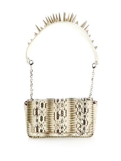Christian Louboutin   Artemis Watersnake-Skin Bag