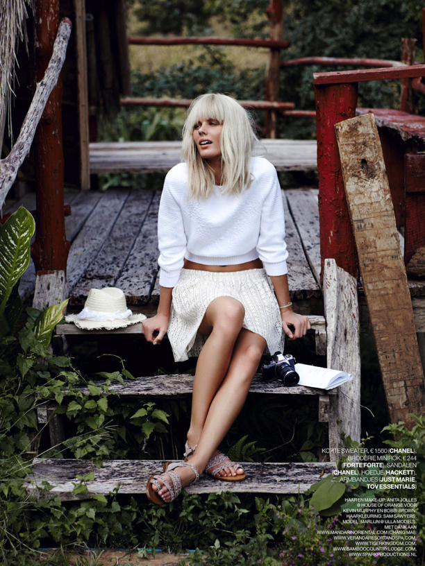 White In The Wild | Marie Claire Netherlands