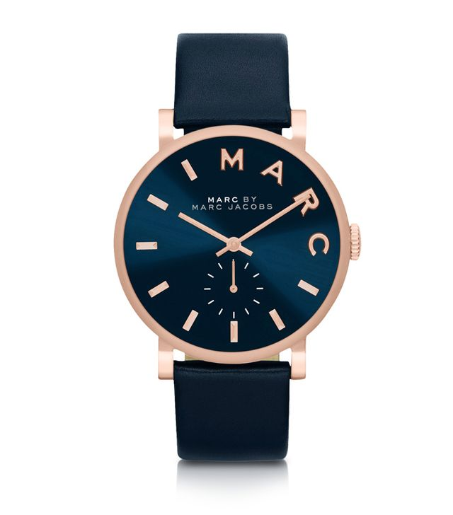 Marc by Marc Jacobs Baker Strap 36mm Navy Blue Women's Watch