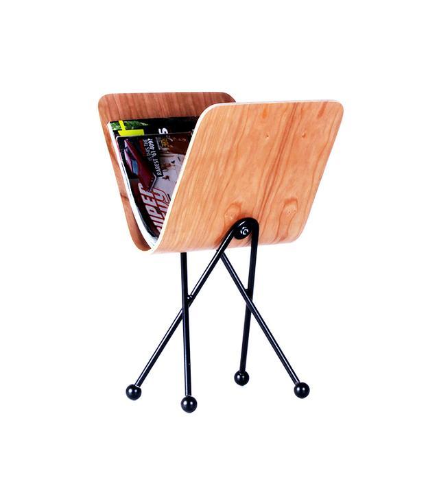 One Forty Three Molded Plywood Magazine Rack