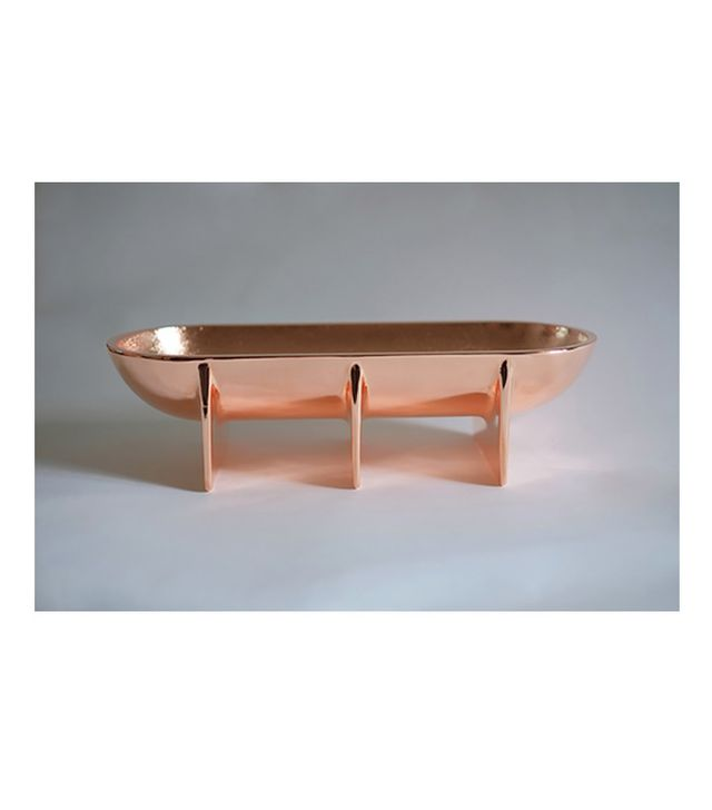 Max and Moritz Large Copper Standing Bowl