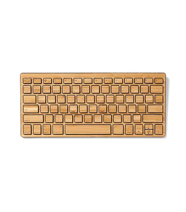 West Elm Wireless Bamboo Keyboard