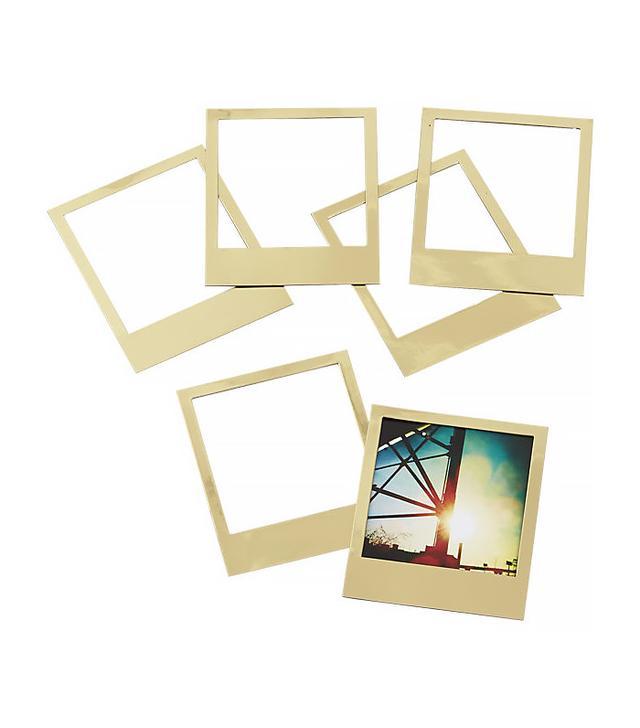 CB2 Magnetic Gold Frames
