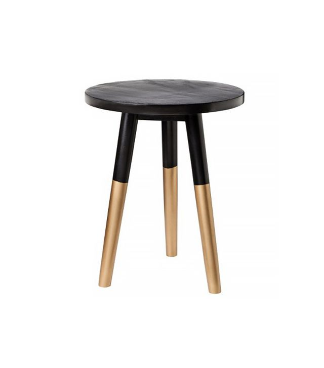 Nate Berkus for Target Black and Gold Accent Table