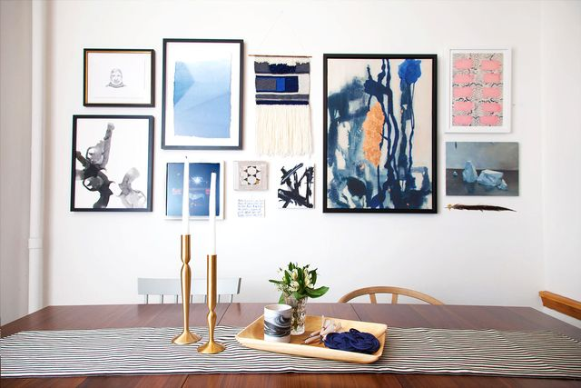 Before and After: A Editor's Artsy Dining Room Makeover