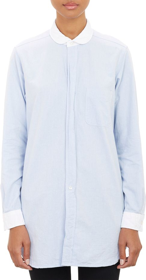 Engineered Garments Contrast Collar Shirt