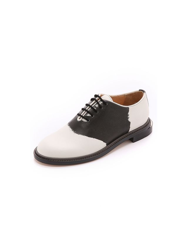 Band of Outsiders Trompe 'Oeil Saddle Shoes