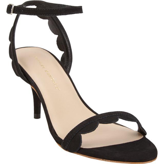 Loeffler Randall Lilit Scalloped Ankle-Strap Sandals