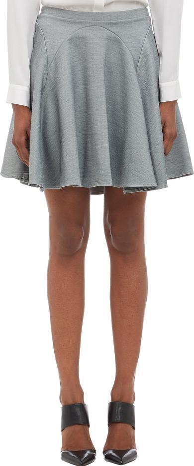 Mason by Michelle Mason Compact Knit Flare Skirt
