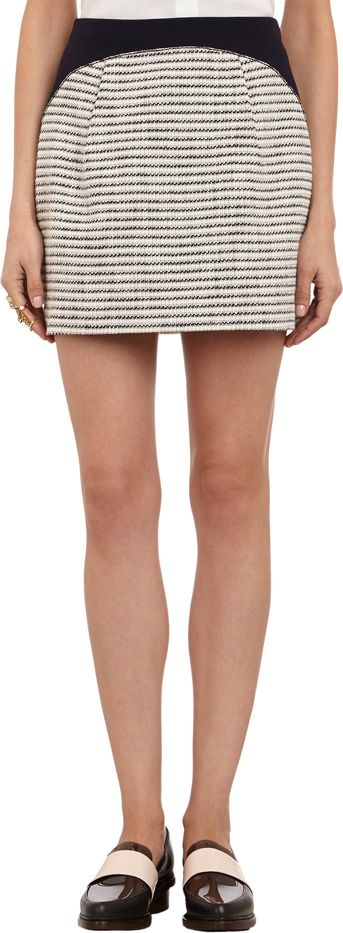 O'2nd Stripe Mini Skirt
