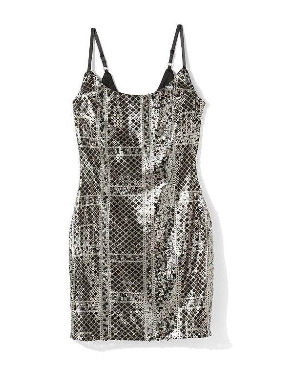 Sabine Mosaic Sequin Dress