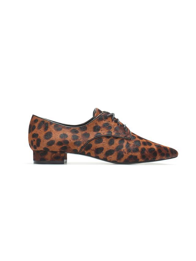 Zara Leopard Blucher