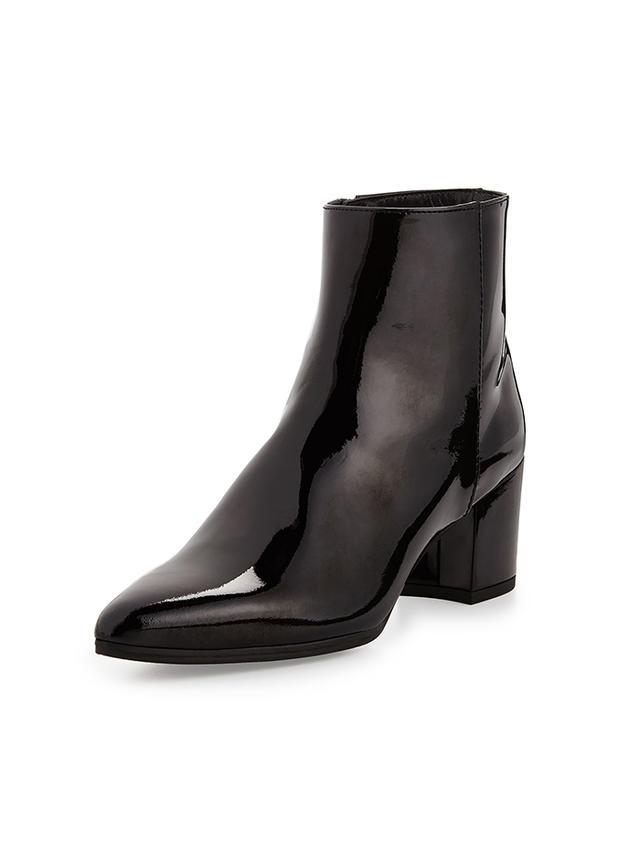Stuart Weitzman Zepher Patent Ankle Boots