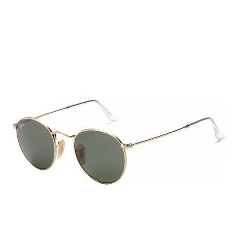 Classic Metal Round Sunglasses