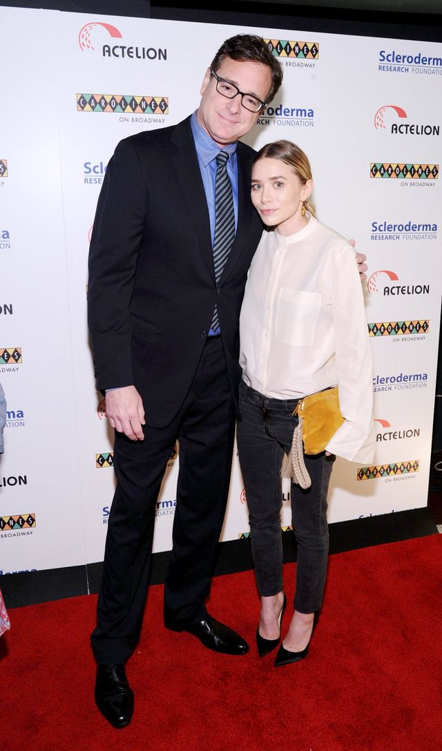 So This Happened: Ashley Olsen & Bob Saget's 'Full House' Reunion