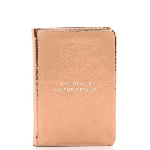 Devil in the Details Mini Notebook