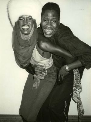 #TBT: Grace Jones and André Leon Talley Joining Forces
