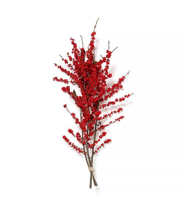 Terrain Fresh Red Winterberry Bunch