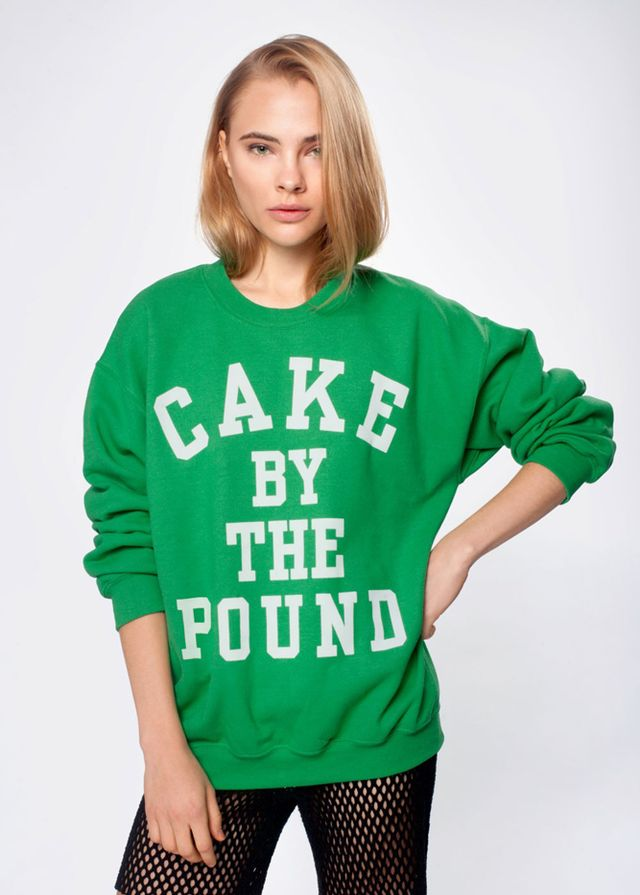 Beyoncé Green Cake by the Pound Sweatshirt