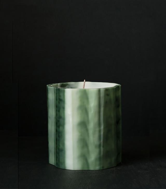 Le Feu De L'eau Vert Candle