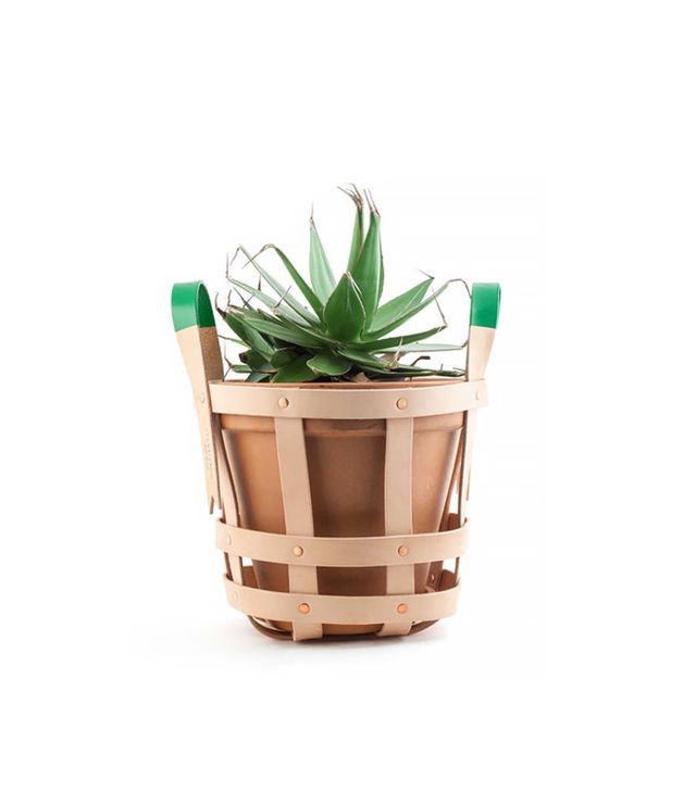 byAMT x Cool Hunting Leather Strap Planter