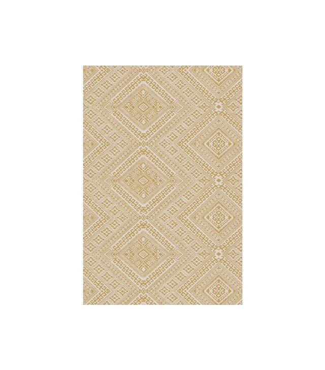 Calico Nate Berkus Santa Maria Fabric in Turmeric