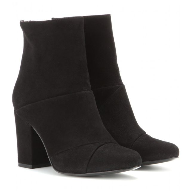 Opening Ceremony Curtain Suede Ankle Boots