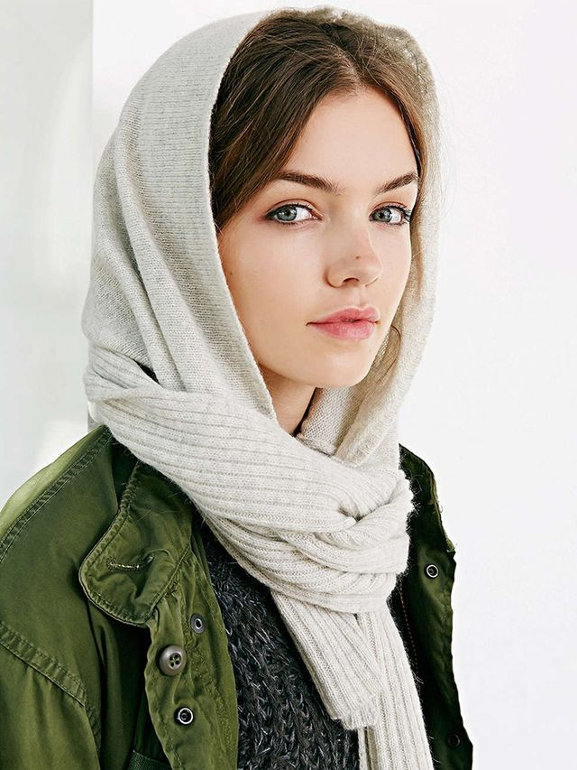 Urban Outfitters Coal The Woods Hooded Scarf