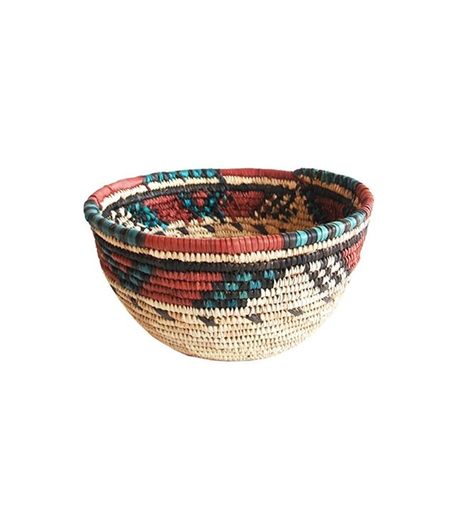 The Loaded Trunk Coiled Grass Hausa Basket