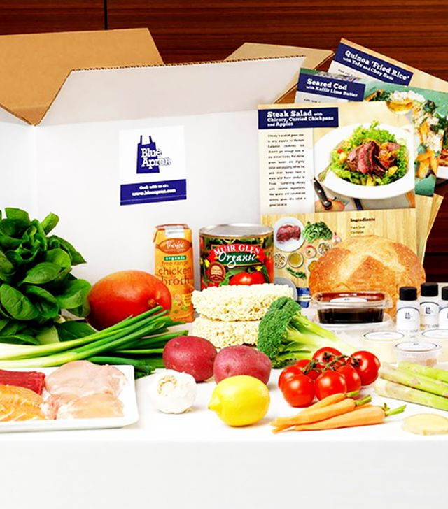 Blue Apron A Week of Meals and Recipes