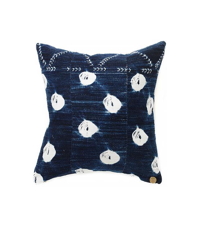 St. Frank Vintage Indigo Pillow