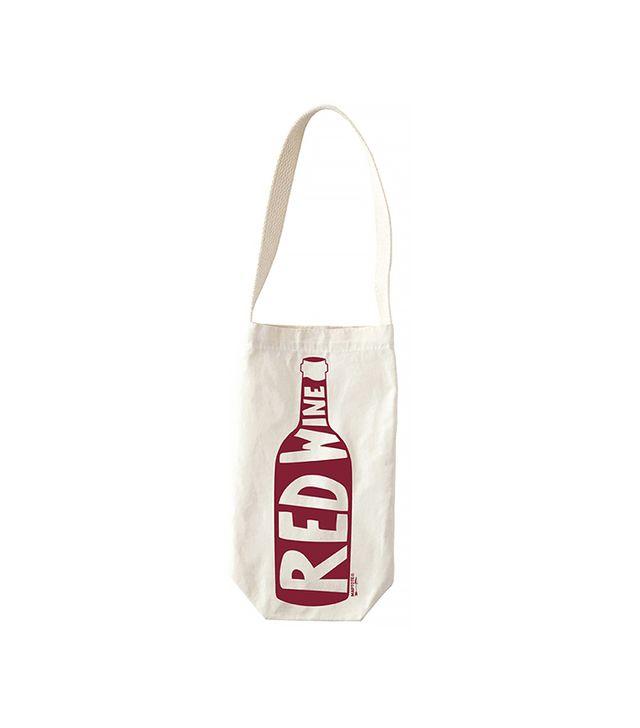 Map Tote Red Wine Tote
