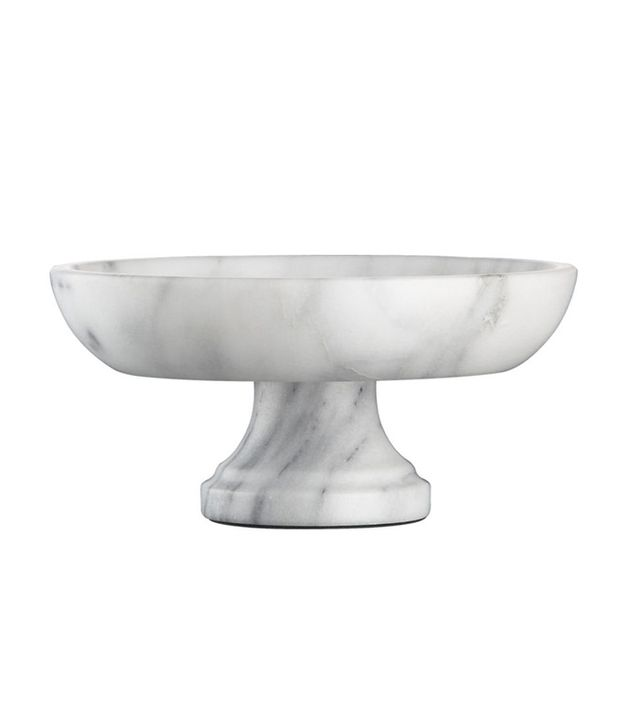 Crate & Barrel Crate & Barrel French Kitchen Marble Fruit Bowl