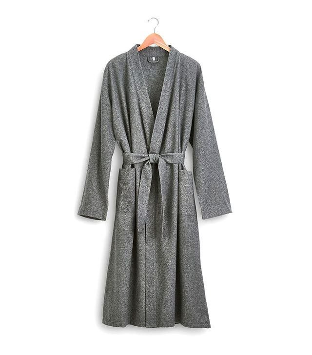 Coyuchi Coyuchi Organic Cotton Flannel Robe