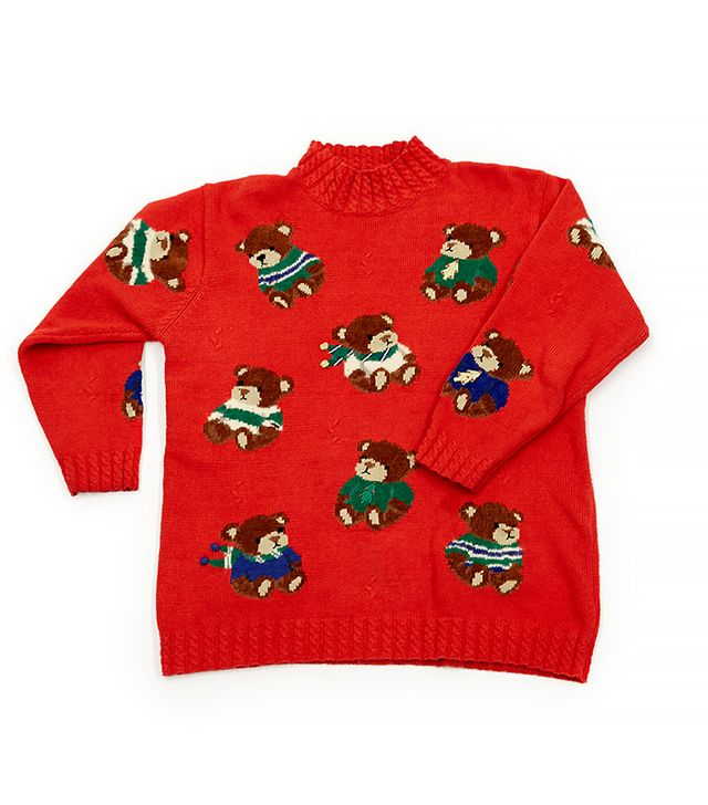 Rent the Runway We Wish You a Beary Christmas Sweater
