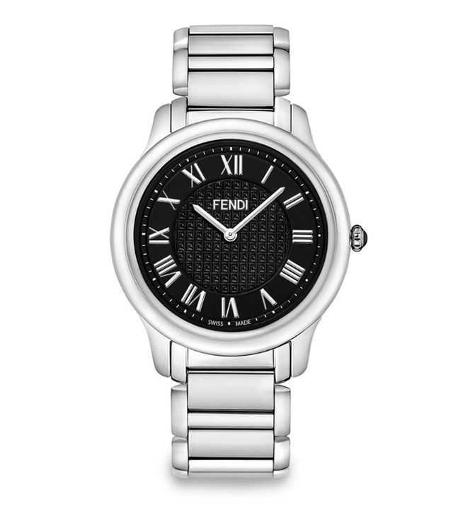 Fendi Classico Large Stainless Steel Bracelet Watch