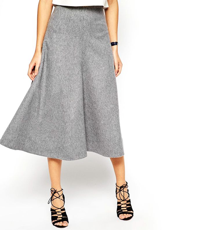 7 new ways to wear your midi skirt this winter