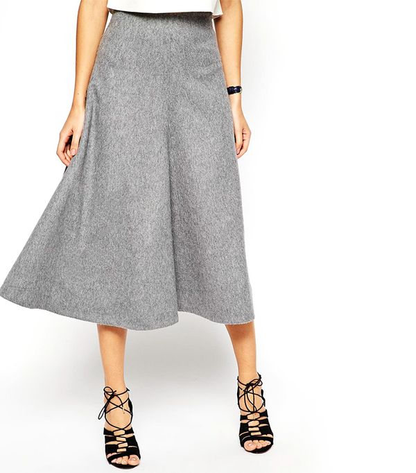 7 New Ways to Wear Your Midi Skirt This Winter | WhoWhatWear