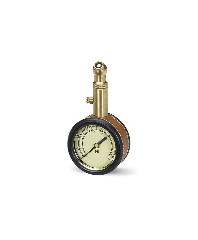 Williams-Sonoma Leather-Wrapped Tire Gauge