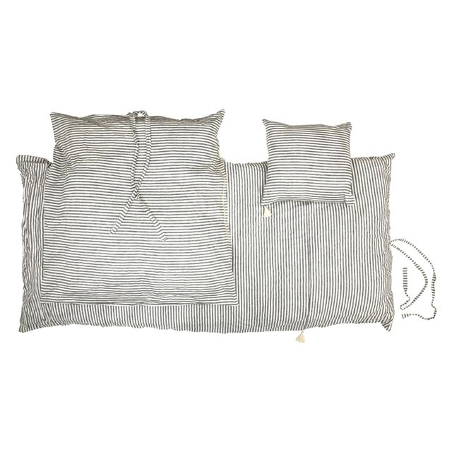 Jayson Home Black Ticking Stripe Pillow Collection