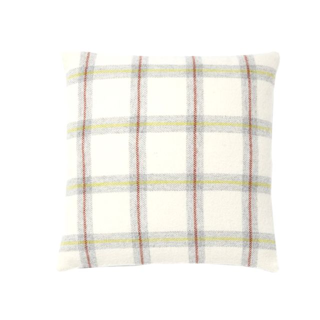 West Elm Faribault Shadow Plaid Pillow Cover