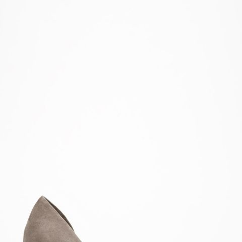 Faux Suede D'Orsay Pumps