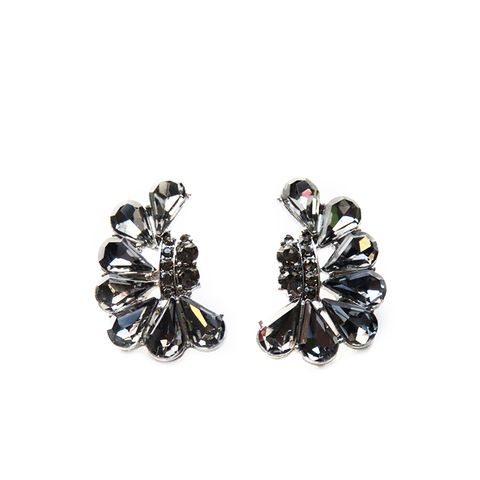 Crystal Explosion Stud Earrings