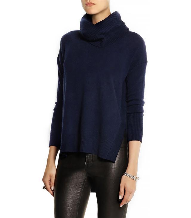 Diane von Furstenberg Ahiga Slim Cashmere Turtleneck Sweater