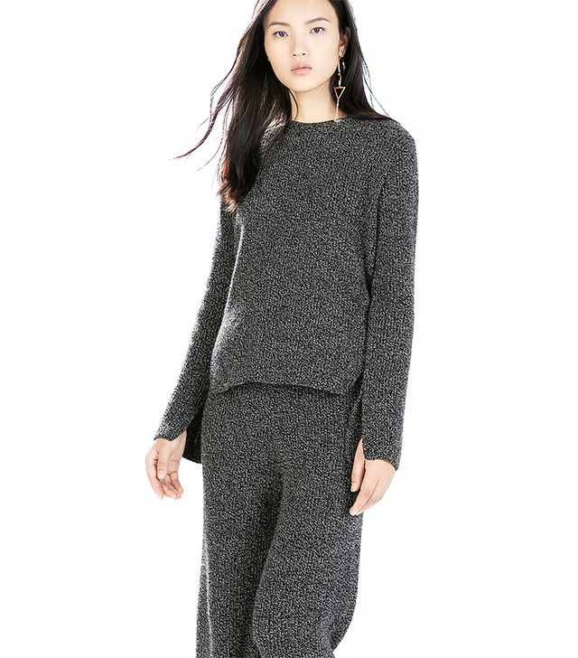 Zara Sweater with Rounded Hem